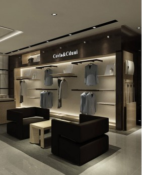 Retail Modern Retail Clothing Display Stand