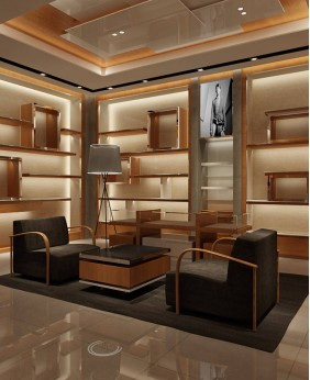 High End Retail High End Clothing Rack Display Furniture