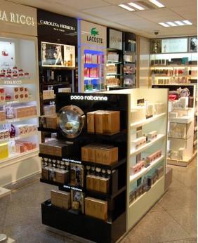 High End Custom Makeup Stand Cosmetic Display