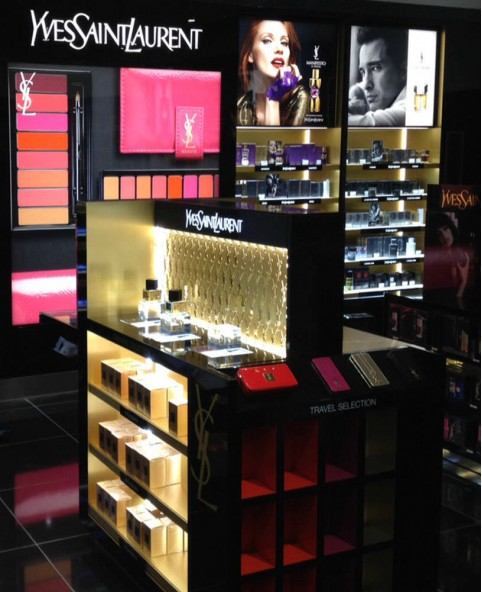 High End Custom Cosmetic Retail Display Stand