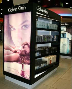 High End Custom Makeup Cosmetic Store Display