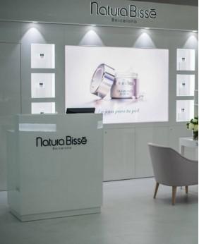 High End Custom Makeup Cosmetic Display Stand