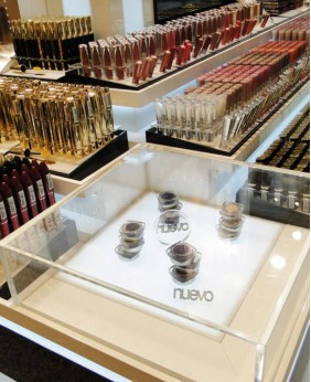 High End Custom Cosmetic Display Cabinet And showcase
