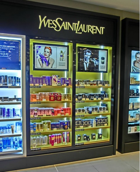 High End Custom Cosmetic Point of Sale Display