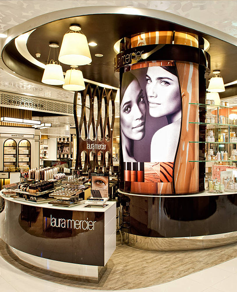 Retail Custom Furniture For Cosmetic Store
