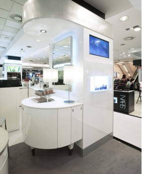 High End Custom Cosmetic Store Display Case