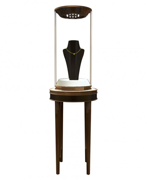 High End Luxury Portable Custom Jewellery Shop Display Showcases