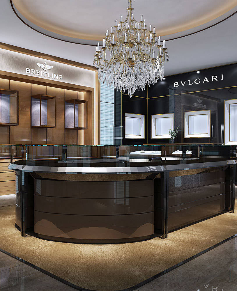 Creative Interior Design: Creative Jewelry Shop Interior Design