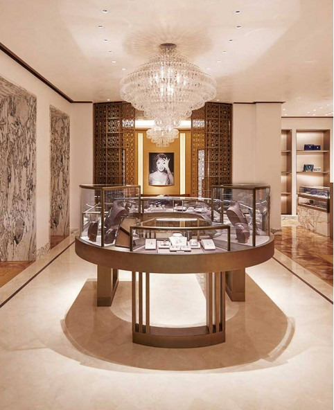 High End Jewelry Showcase Display Cabinet