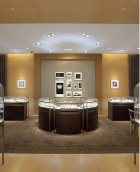 High End Custom Jewelry Showcase For Sale