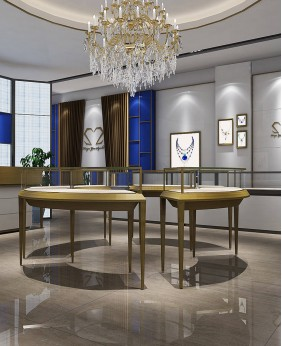 High End Fancy Jewelry Showcase Furniture