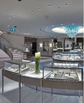 High Quality glass Jewelry Showcase