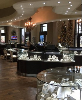 High End Jewelry Store Display Cases