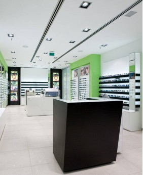 High End Retail New Optical Shop Display