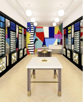 Creative Design High End Optical Shop Display