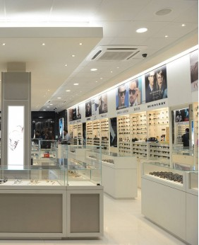 High End Retail Eyewear Display Cabinet