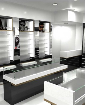 Creative Optical Shop Design Display Showcase
