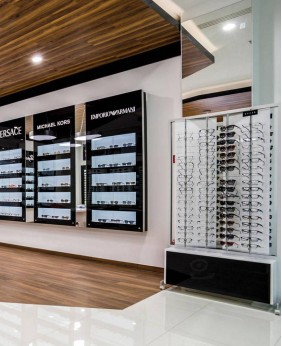 High End Retail Eyewear Display Rack