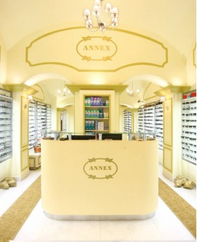 Creative Optical Shop Display Counter