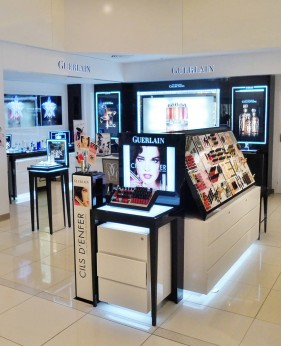 High End Retail Perfume Shop Display Cabinet