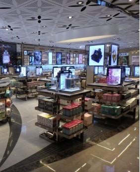 Retail Custom Perfume Shop Stand Display