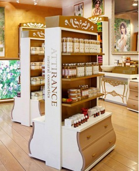 Retail Custom Perfume Shop Display Rack