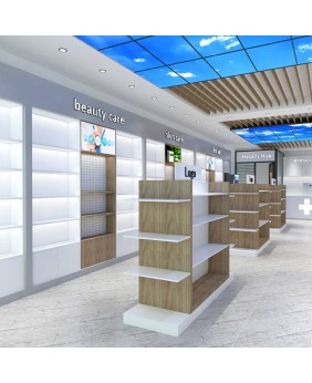 Retail Custom Pharmacy Store Design