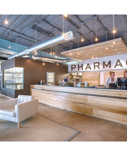Retail Custom Pharmacy Store Furniture Design