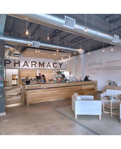 Retail Custom Pharmacy Store Furniture Design