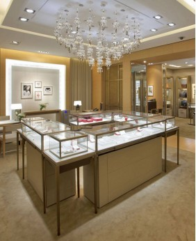 High End Jewelry Shop Furniture Design