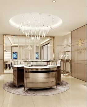 High End Jewelry Store Display Showcase