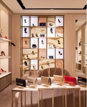 High End Shoe Interior Store Design