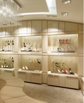 High End Equipment For Shoe Store