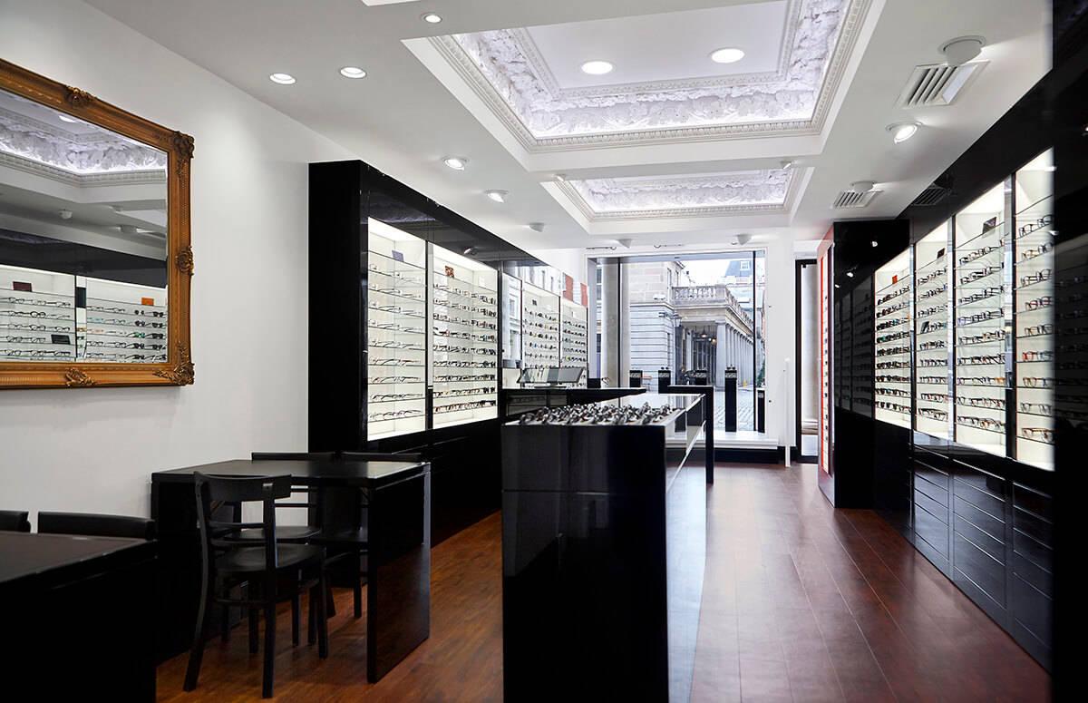 Creative Retail Optical Shop Display Cabinet Spark Retail Design